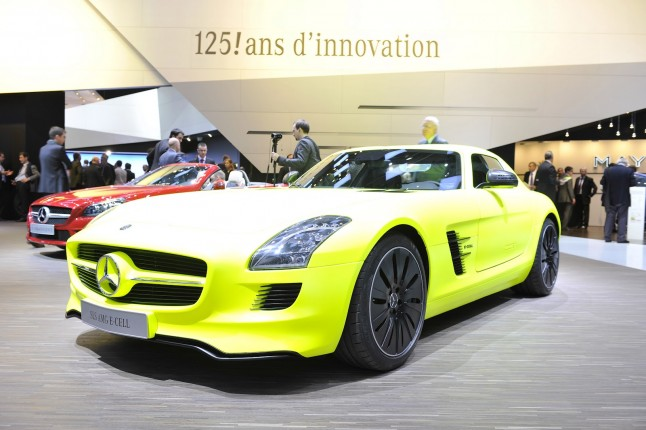 2013 Mercedes-Benz sls Amg E-Cell Release