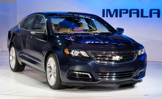 2014 Impala Spy Photos