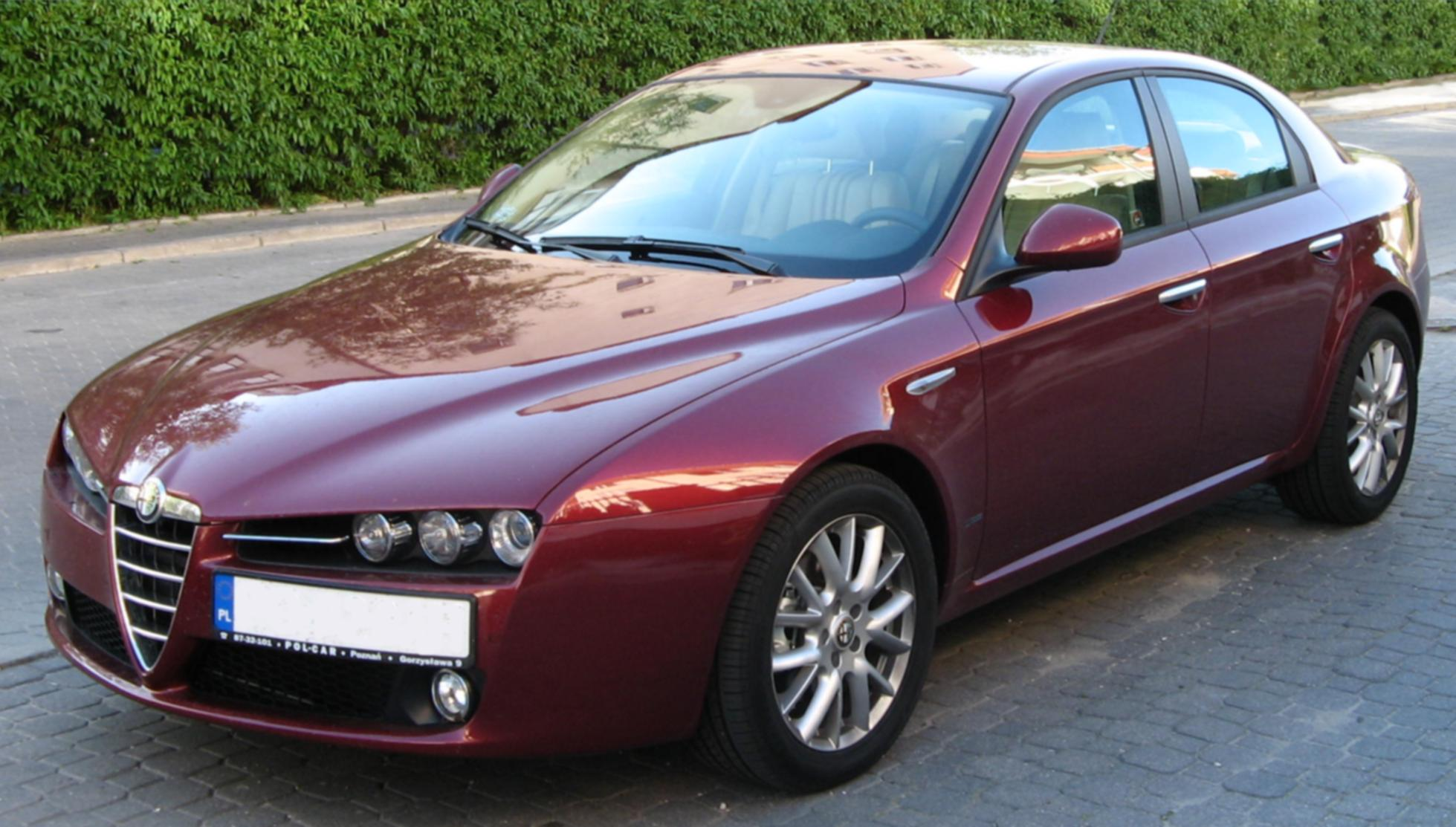 2013 Alfa Romeo 159 Red Sedan