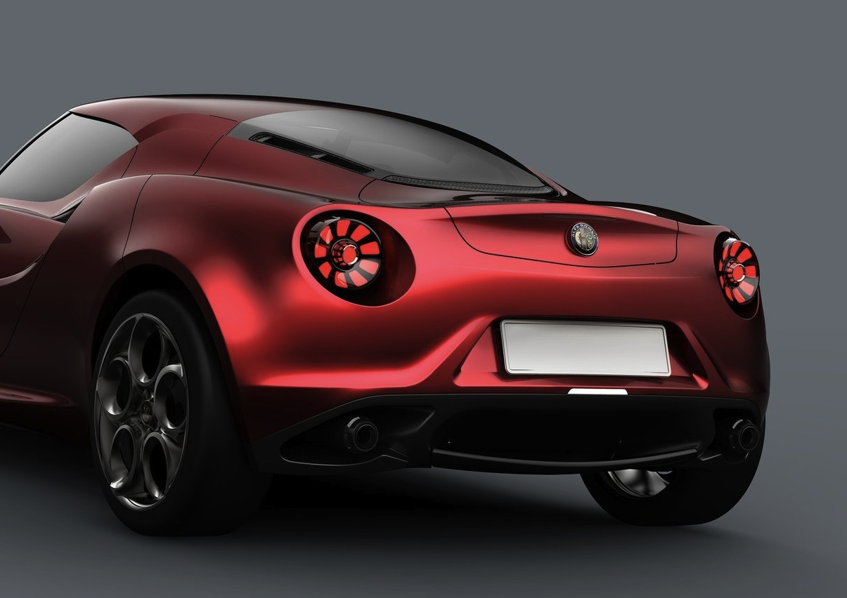 2013 Alfa Romeo 4c Wallpapers