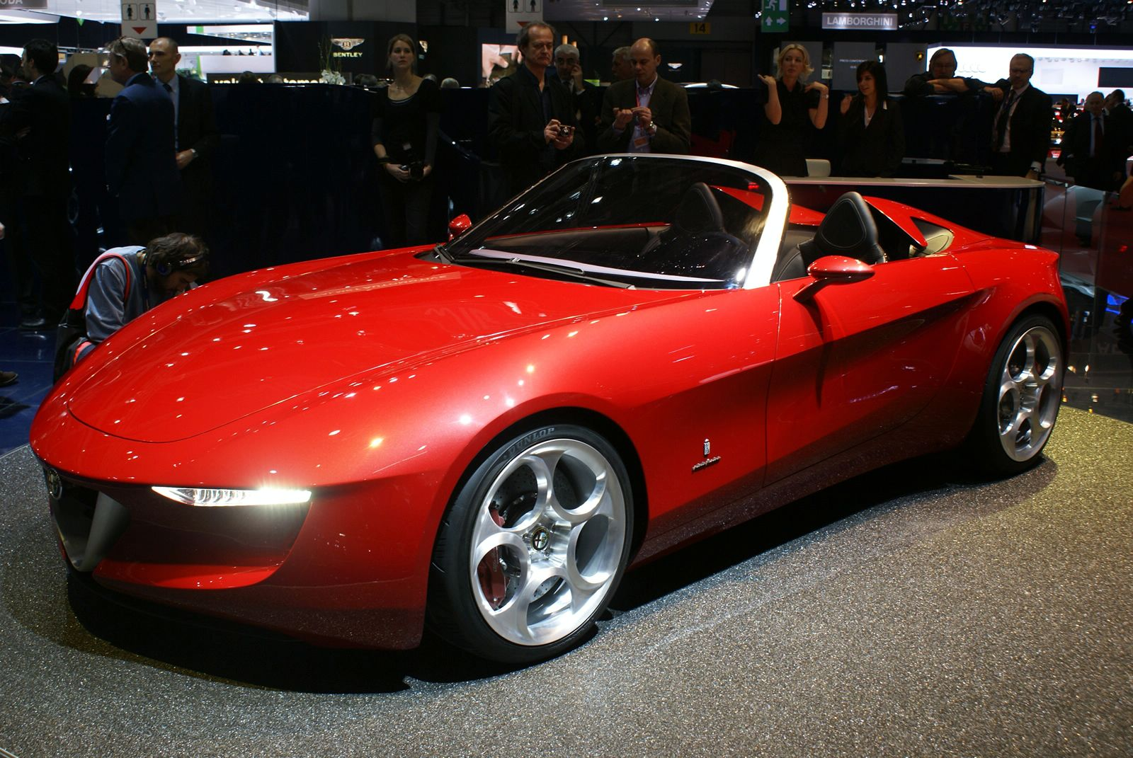2013 Alfa Romeo Spider Red