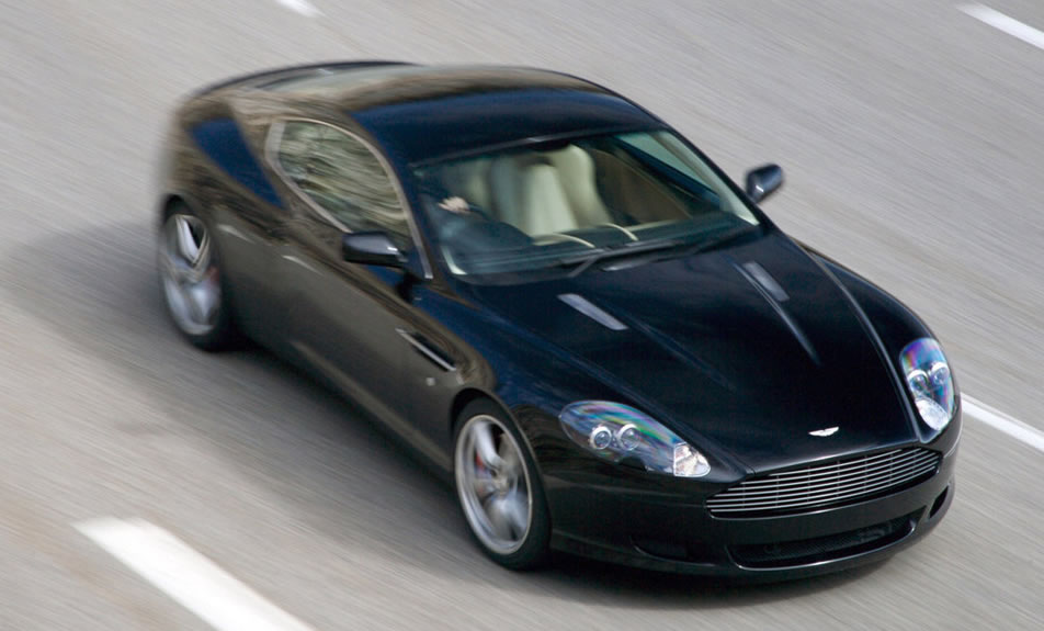 2013 Aston Martin DB9 Spy Shot