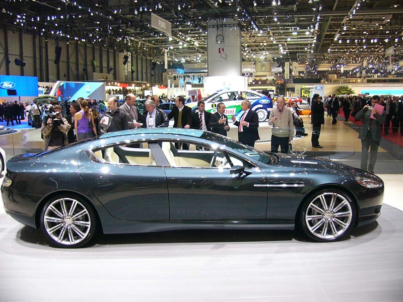 2013 Aston Martin Rapide Changes