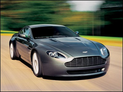 2013 Aston Martin Vantage Changes