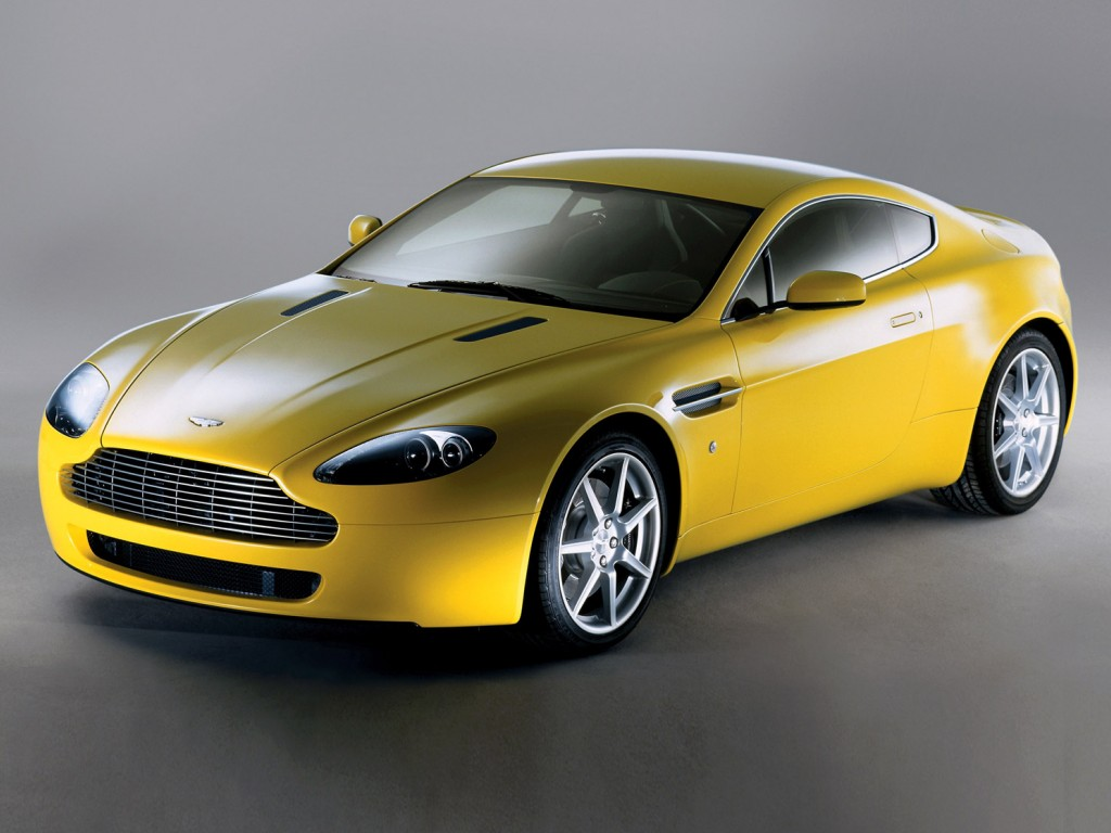 2013 Aston Martin Vantage Yellow