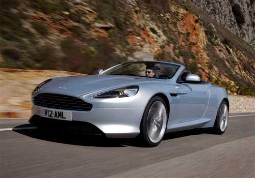 2013 Aston Martin Virage Changes