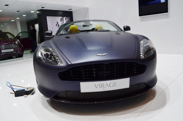2013 Aston Martin Virage Interior