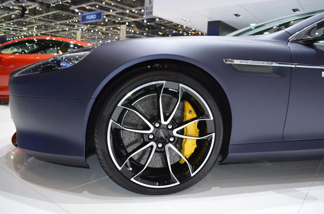 2013 Aston Martin Virage Wheels