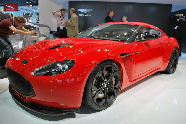 2013 Aston Martin v12 Zagato Changes