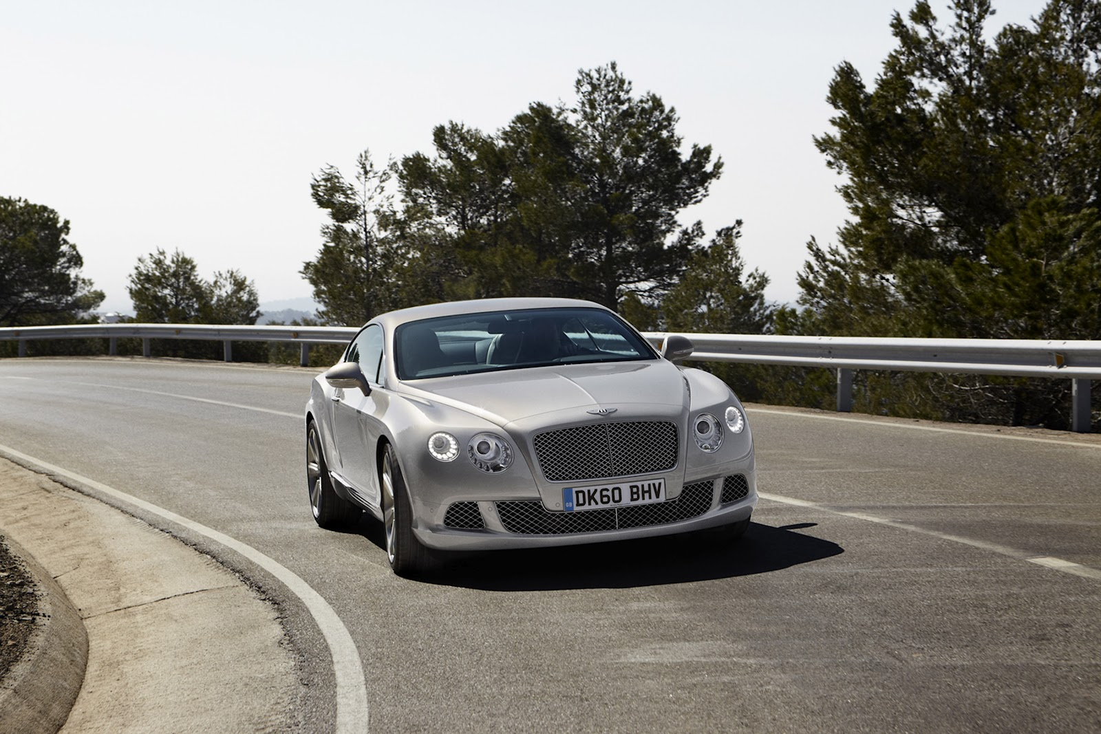 2013 Bentley Continental GTC Spy Shots
