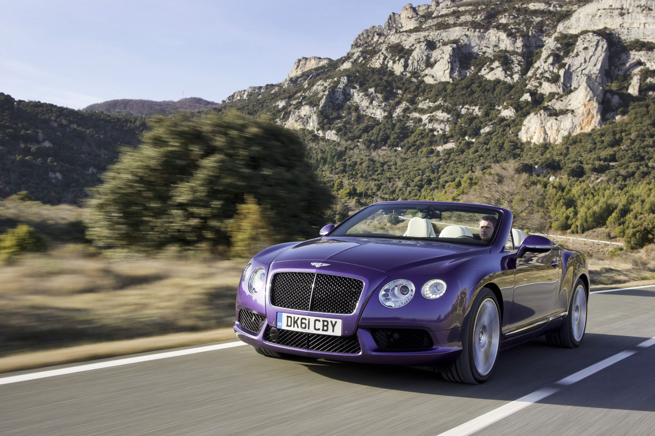 2013 Bentley Continental GTC Wallpapers