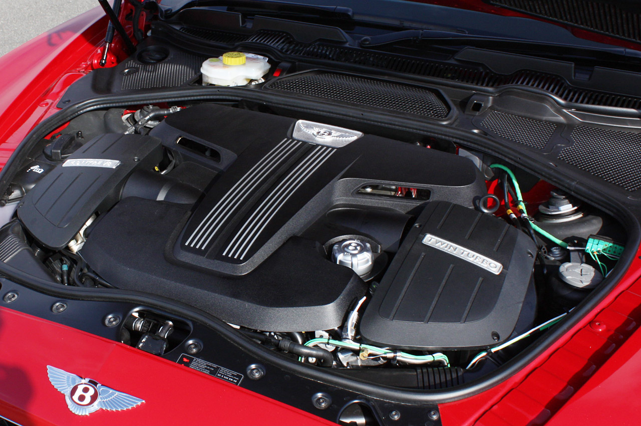 2013 Bentley Coupe Engine