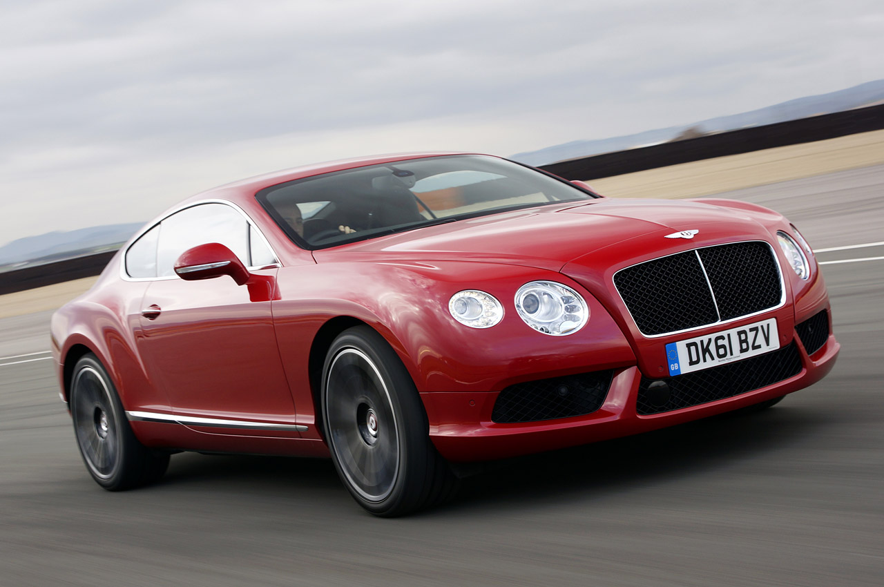 2013 Bentley Coupe Red