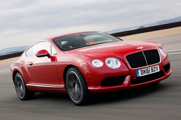 2013 Bentley Coupe Spy Shoot
