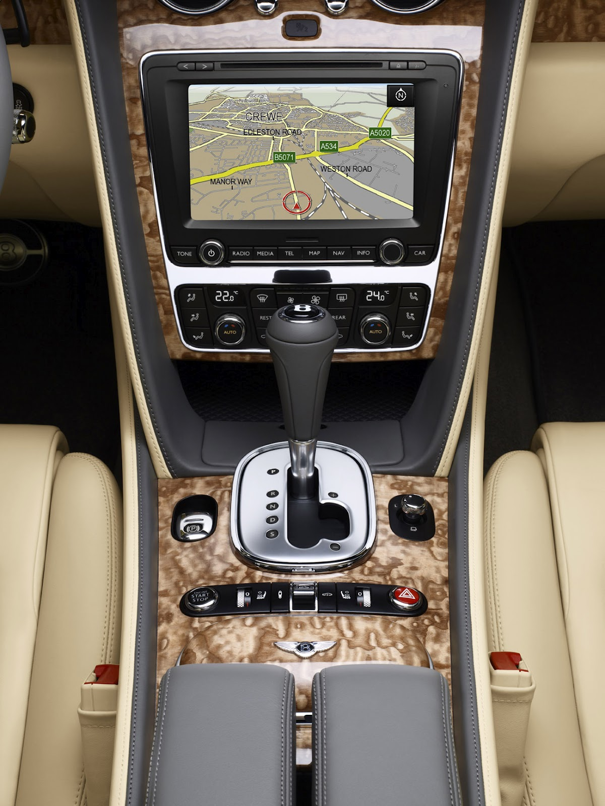 2013 Bentley Truck Dashboard
