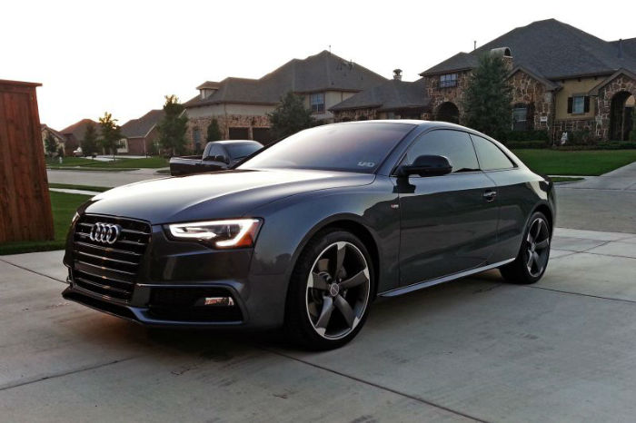 2014 Audi A5 Black Topismag Com