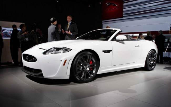 2014 Jaguar Xk White