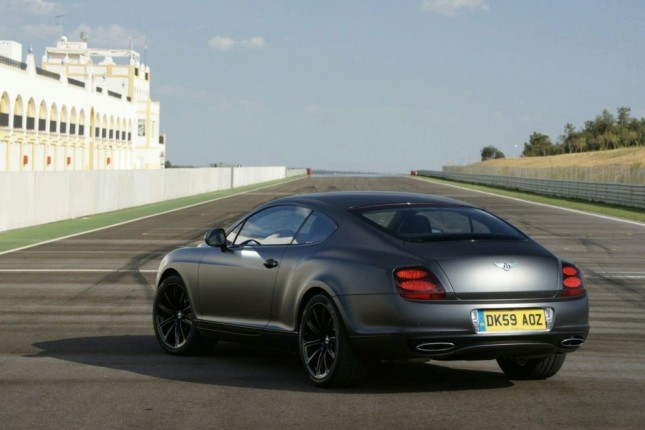 2015 Bentley Continental Supersports Black Edition