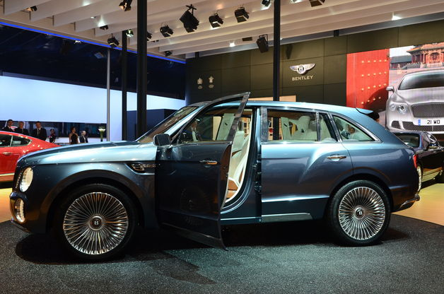 2015 Bentley SUV Redesign