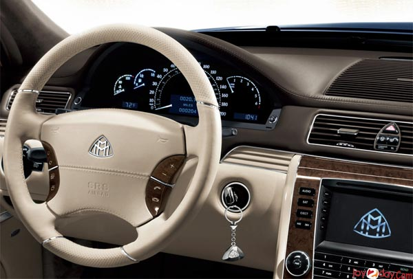 2014 Maybach 62 Interior