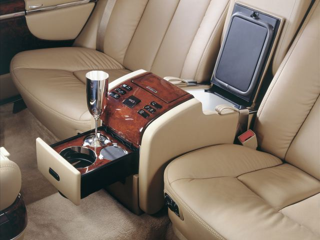 2014 Maybach 62 Seats