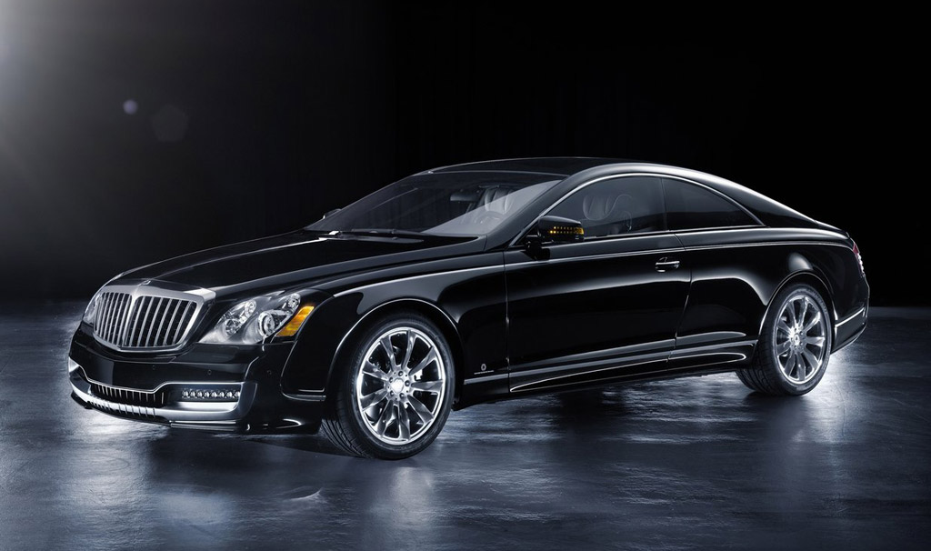 2014 Maybach Coupe Black Edition