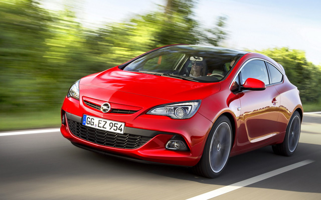 2014 Opel Astra Redesign