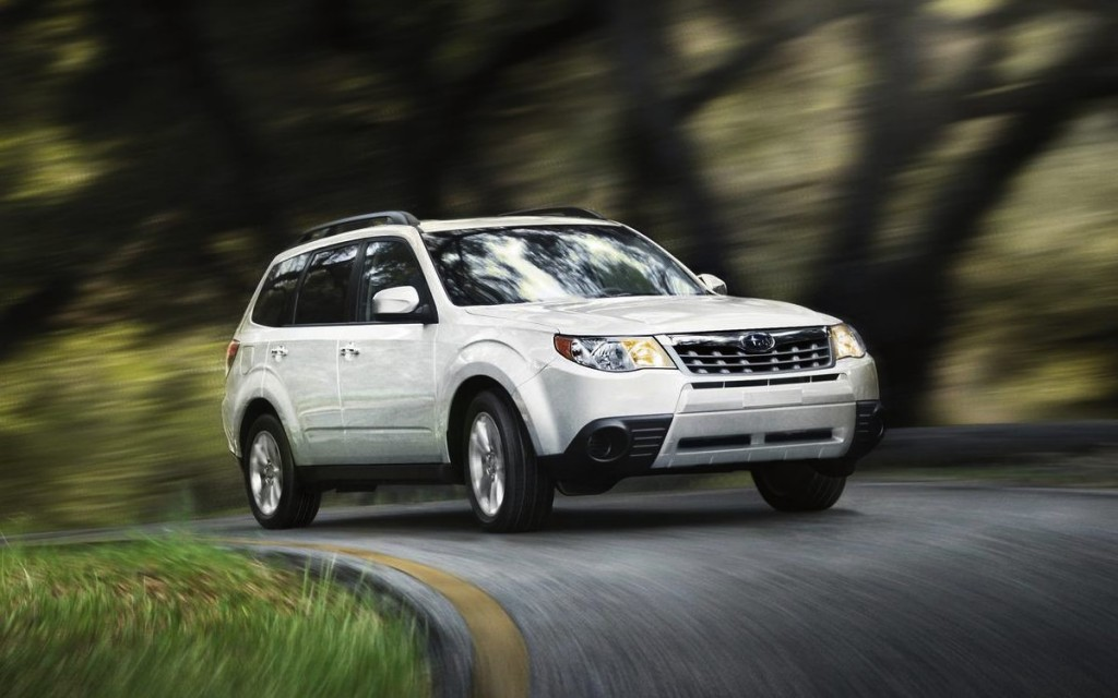 2014 Subaru Forester White