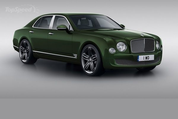 2014 Bentley Mulsanne Coupe