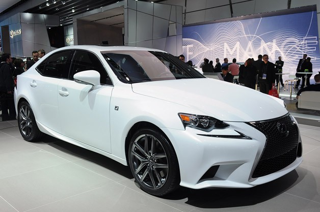 2014 Lexus IS 350 Redesign