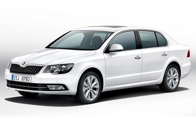 2014 Skoda Superb Redesign