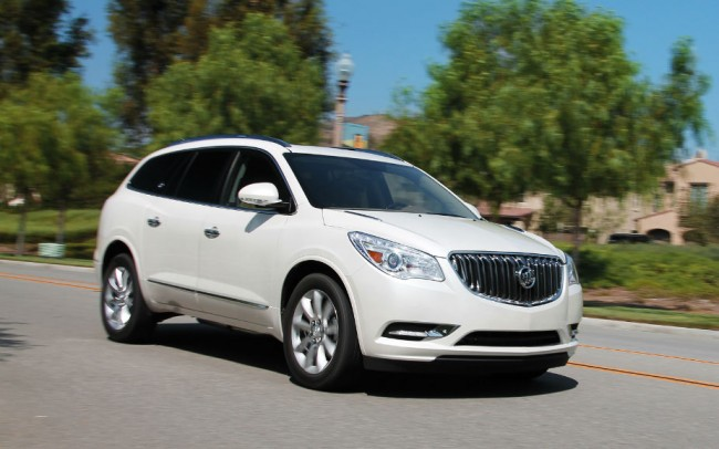 2013 Buick Enclave White Diamond