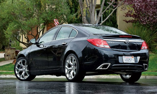 2013 Buick Regal GS Black