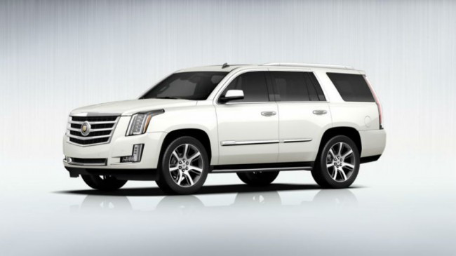 2013 Cadillac Escalade White Diamond