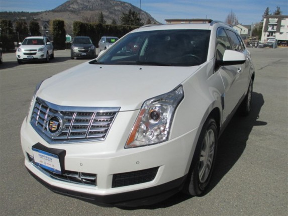 2013 Cadillac SRX Luxury Edition