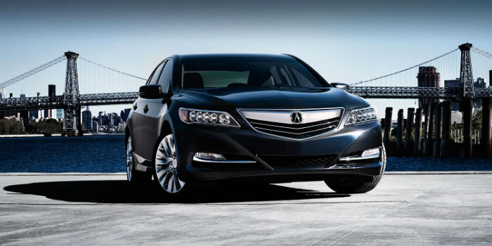 2015 Acura RLX With Advance Package