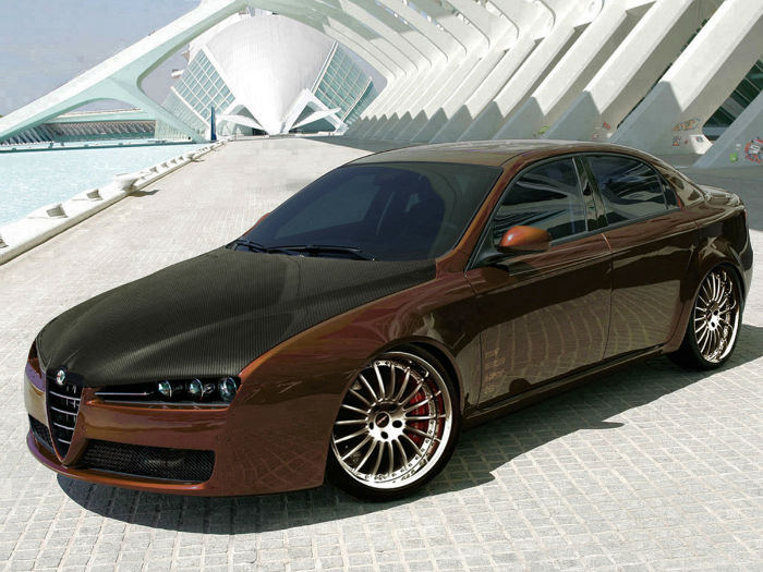 alfa romeo 159 sportwagon tuning topismag com. Black Bedroom Furniture Sets. Home Design Ideas