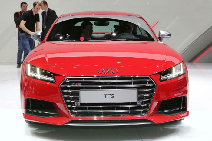 Audi TTS Coupe Facelift