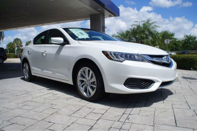 2016 Acura ILX 2.4L AcuraWatch Plus Package White