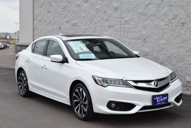 2016 Acura ILX Technology Plus Package White