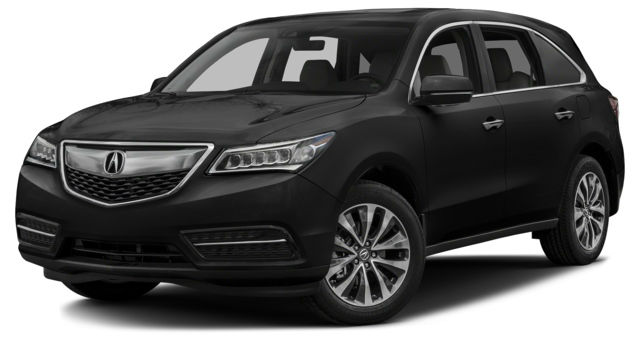 2016 Acura MDX AcuraWatch Plus Package Black