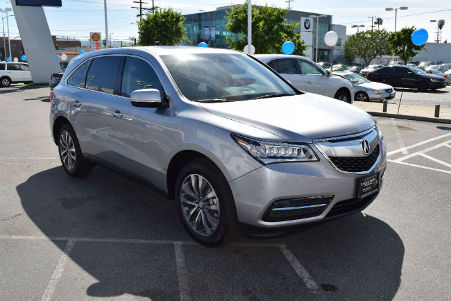 2016 Acura MDX AcuraWatch Plus Package Exterior