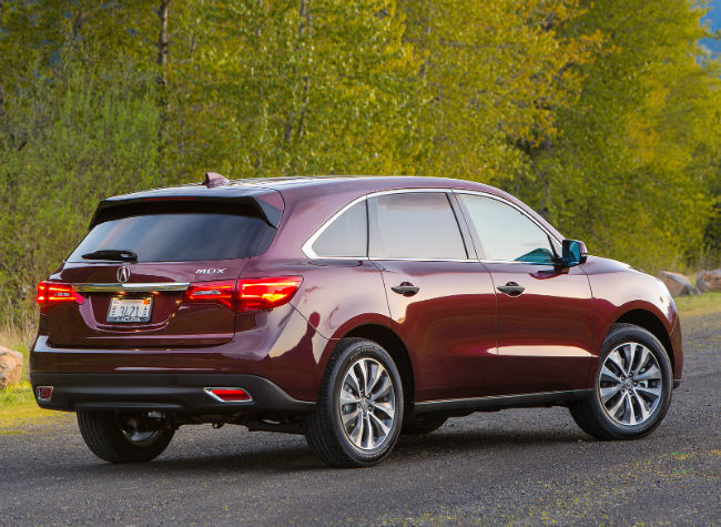 2016 Acura MDX Color