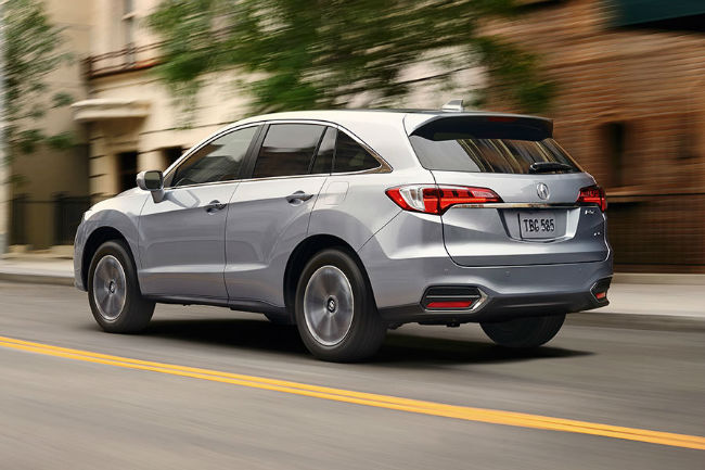 2016 Acura MDX Technology Package Exterior