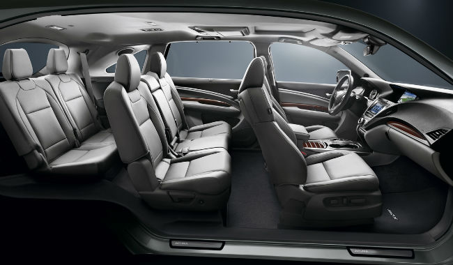 2016 Acura MDX Technology Package Inside