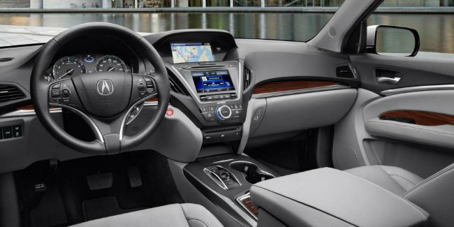 2016 Acura MDX Technology Package Interior