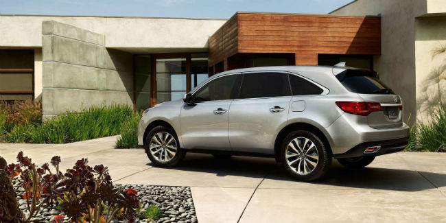 2016 Acura MDX Technology Package Official Photo