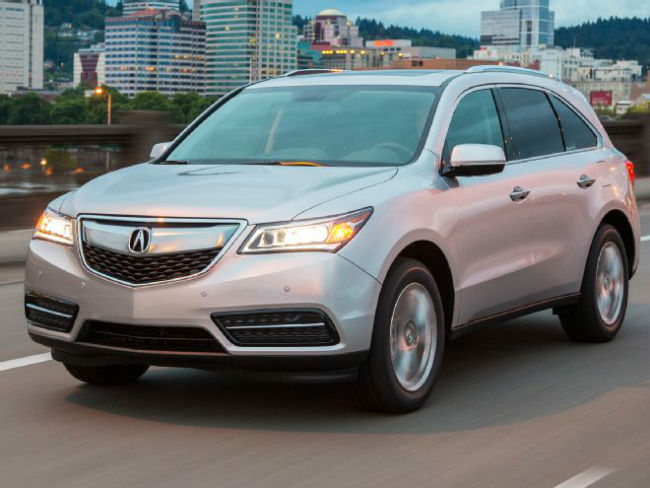 2016 Acura MDX Technology Package Silver