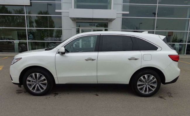 2016 Acura MDX Technology Package White