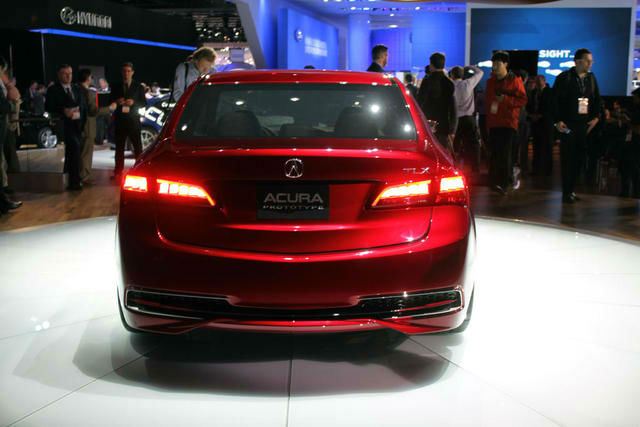 2016 Acura TLX V6 Advance TailLights